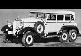 Daimler-Benz G4 Staff Car / Heavy Personnel Car