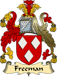 Freeman Family Crest and History