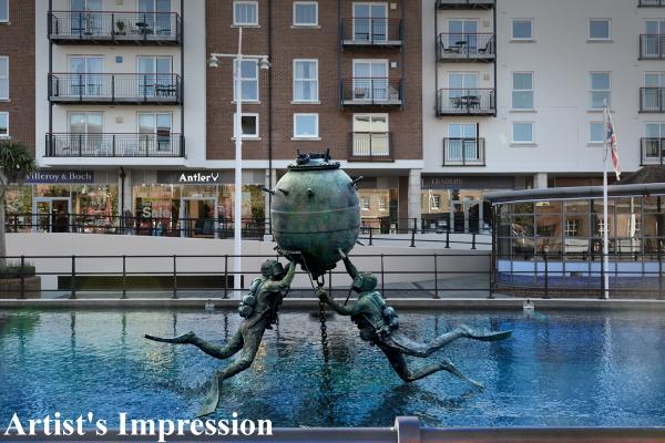 Artist Impression of Vernon Monument in Pool B med.jpg