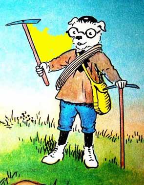 Brainy Pup Rupert Bear Cartoon.jpg