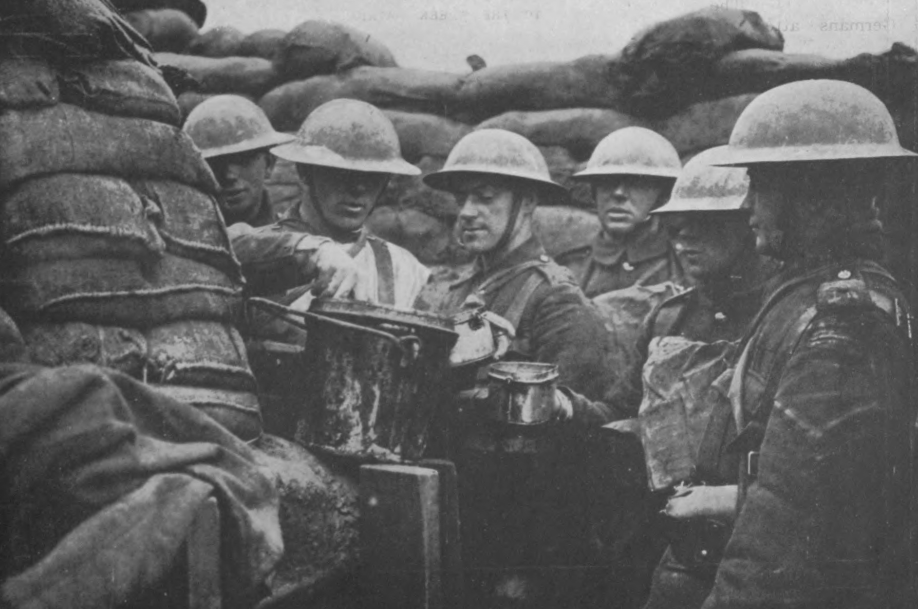 Bringing Food To The Soldiers In The Trenches.jpg