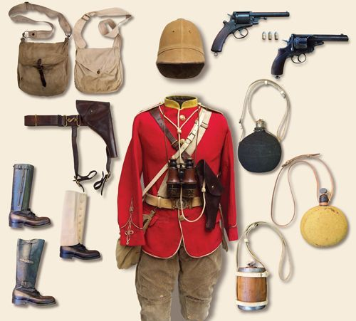 British Zulu War Camaign Kit, late 19th century.jpg