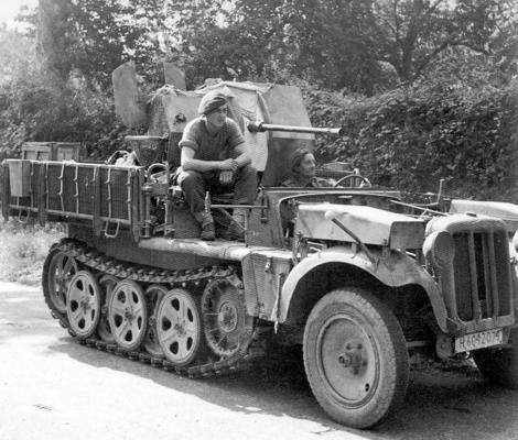 Captured German half-track SdKfz 10-4..jpg