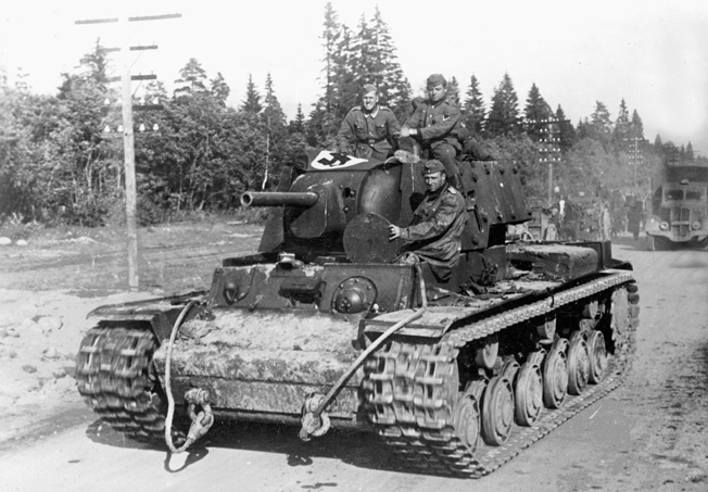 captured Soviet KV-1 tank.jpg