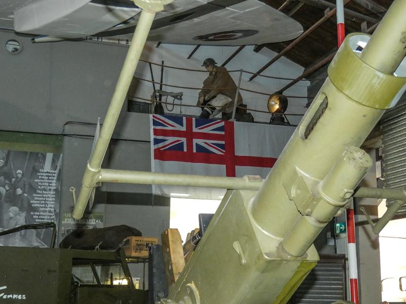 Castletown D-Day Centre-40mm Bofors Light Anti-Aircraft Gun L60 (14).jpg