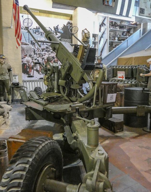 Castletown D-Day Centre-40mm Bofors Light Anti-Aircraft Gun L60 (3).jpg