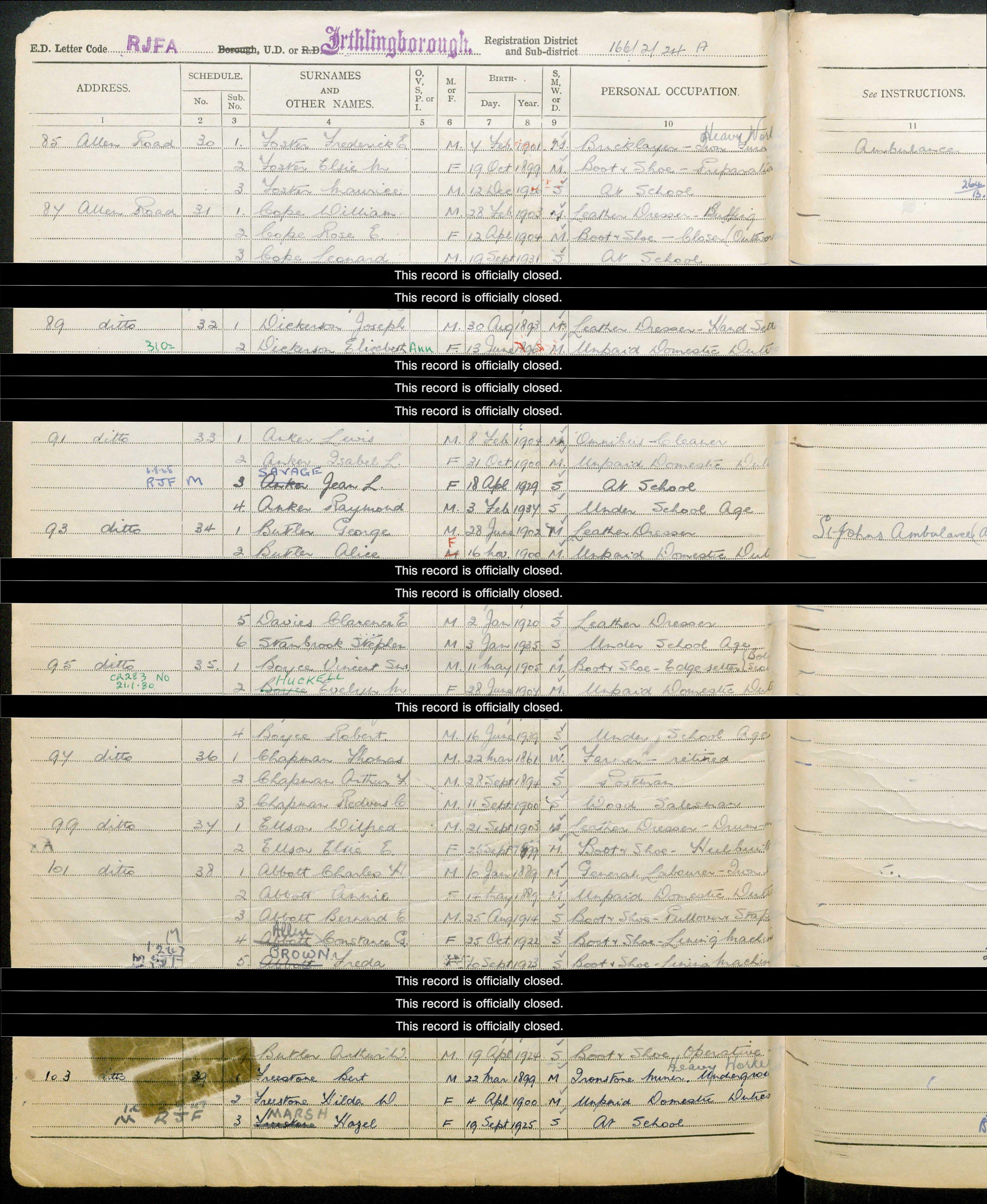 Clarence Davies-1939 Register.jpg