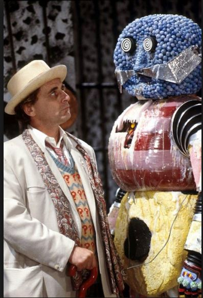 Dr Who and the Candyman.JPG