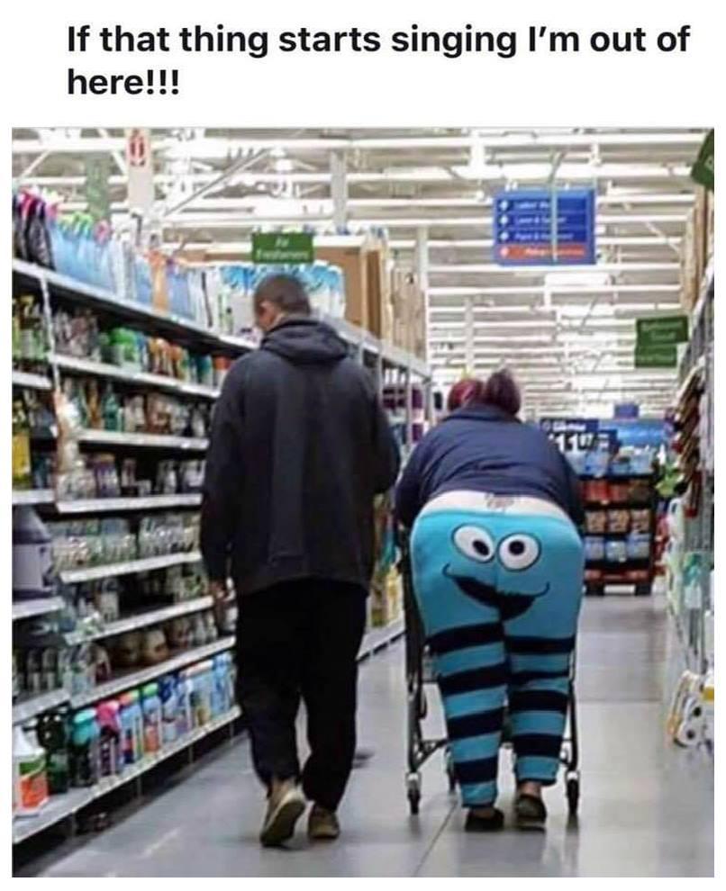 Fat Broad Wearing Muppet pants.jpg