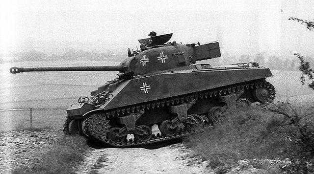 German captured M4 Firefly.jpg