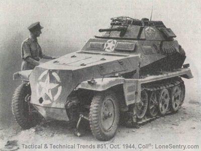 German half-track Sd.Kfz. 250-9 Captured in American markings..jpg