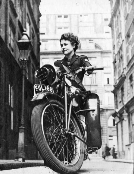 Given the sensitive nature of some of the work WVS was involved in, motorcycle messengers were...jpg