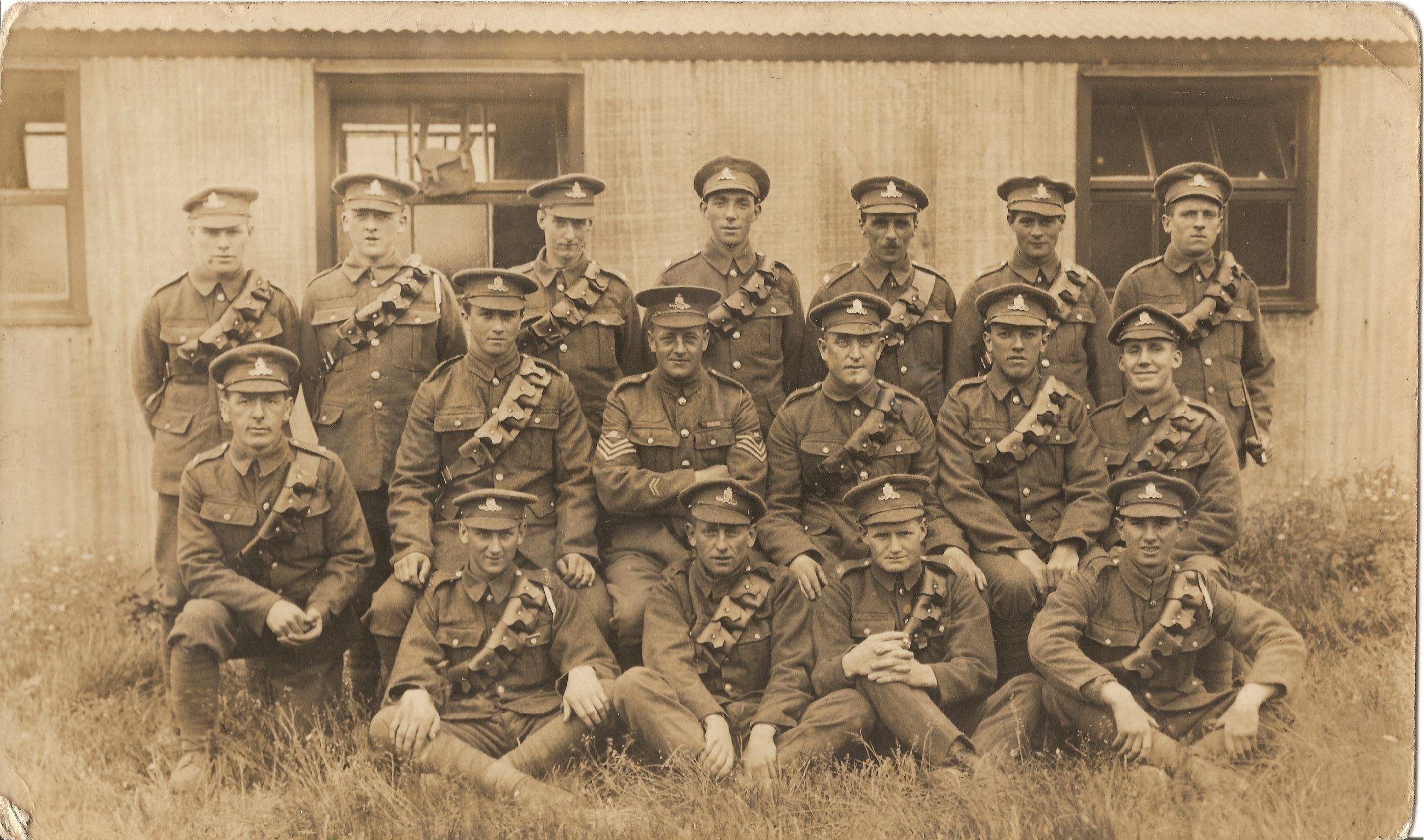 Gnr Jack Owens, 1918 Troop - 2nd left.jpg