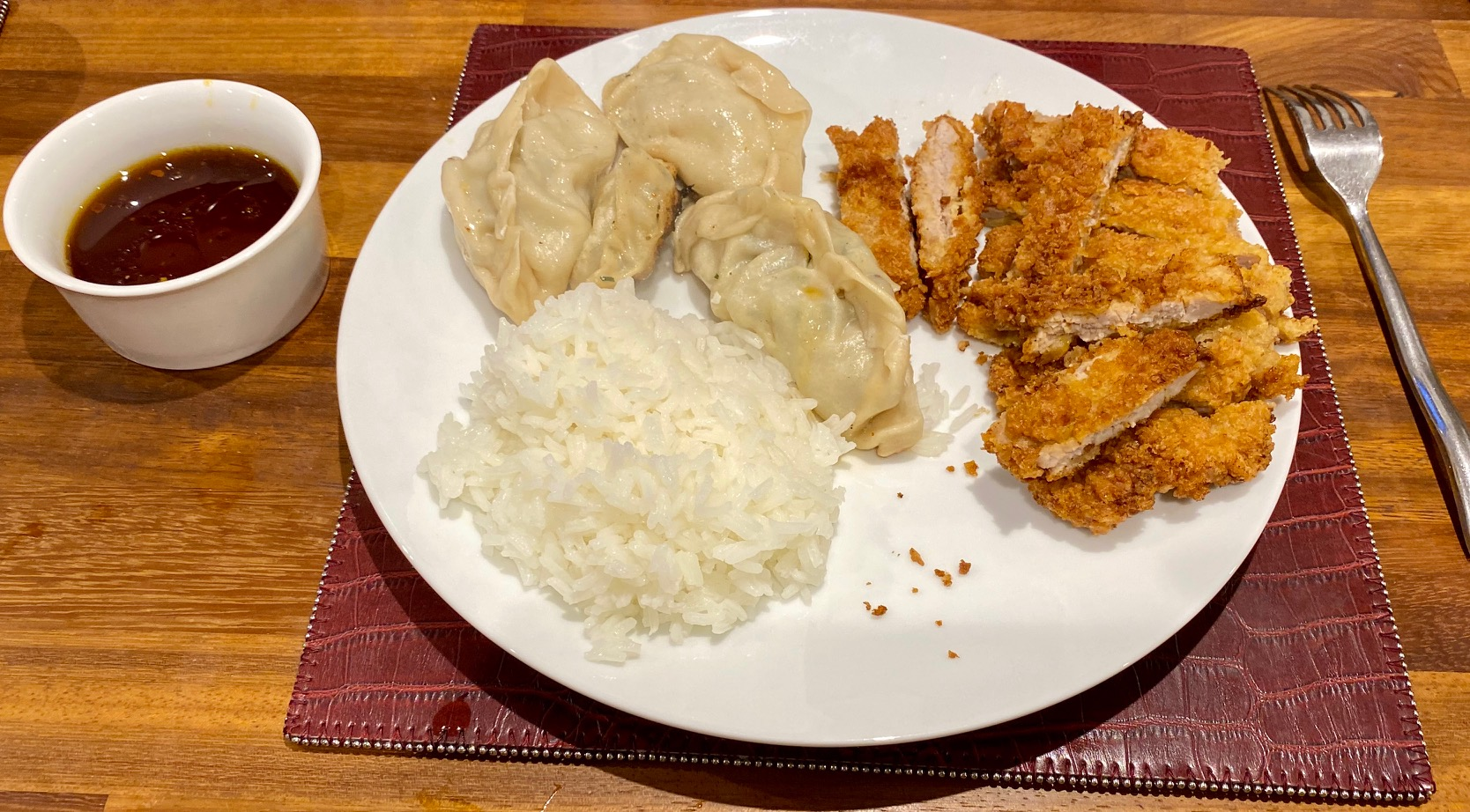 Katsu Pork and vietnamese dumplings.jpg