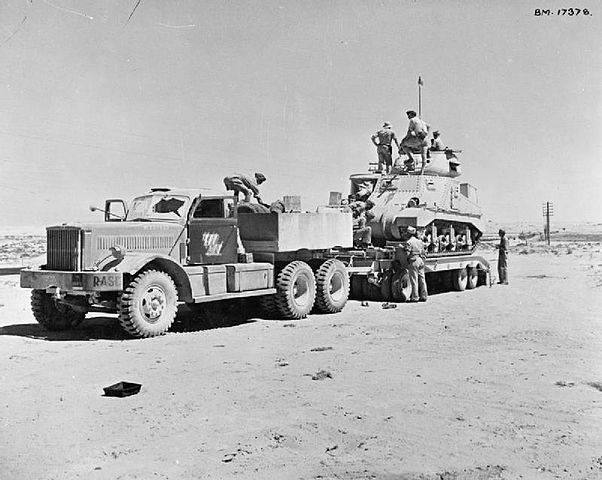 M19 Tank Transporter North Africa 1942.jpg