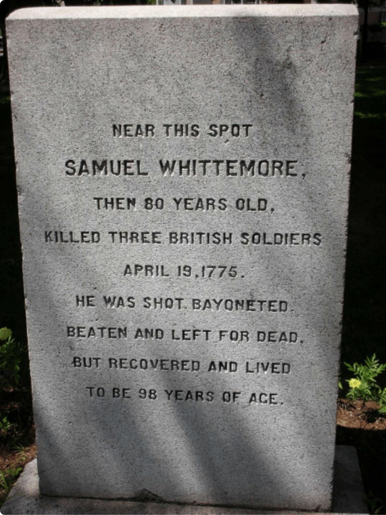 Memoiral to Samuel Whittemore.jpg