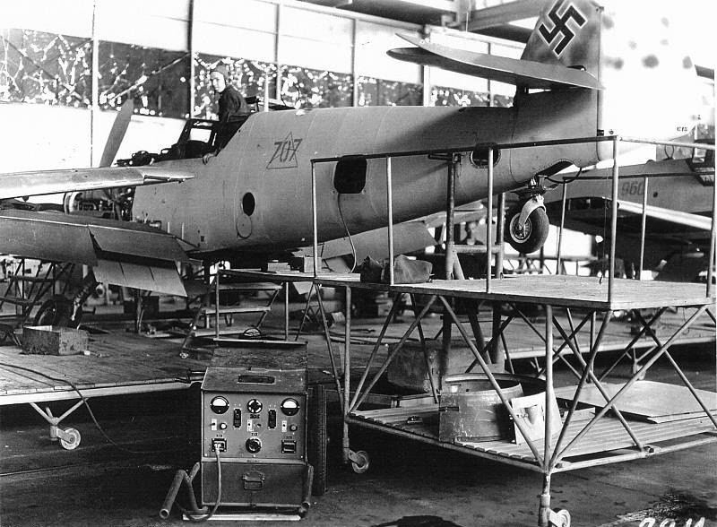 Production of German fighters  Bf 109.jpg