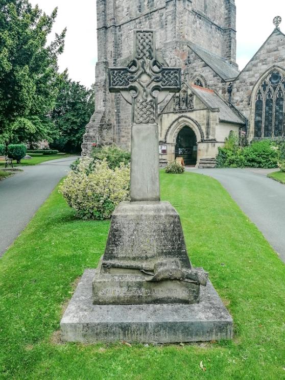 St Oswalds Church, Oswestry, Boer War Memorial  (5) (Custom).jpg