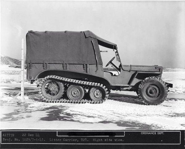 T-28 Litter Carrier tracked protoytpe from December 22, 1944.jpg