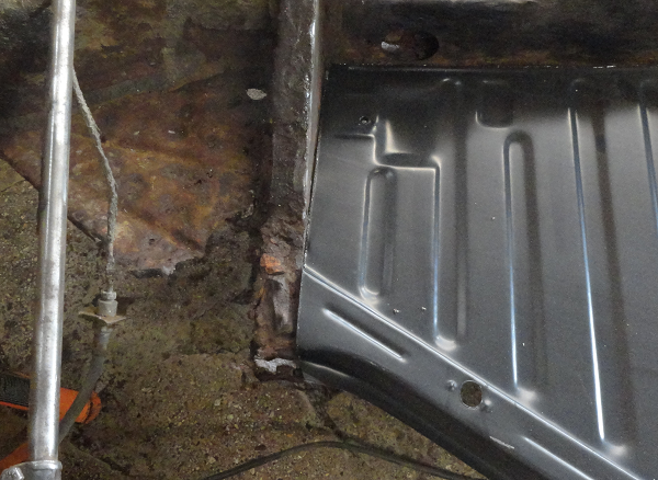 trial fit of left floor pan front edge.png
