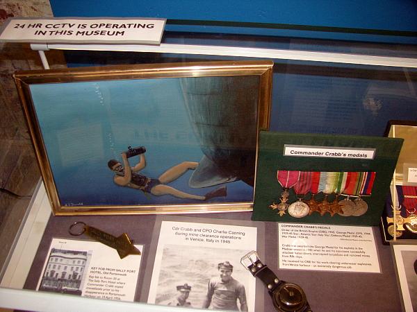 UWWP Display at HDS Diving Museum (1).jpg