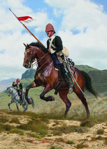 Zulu War 1879 - 17th Lancers on patrol.jpg